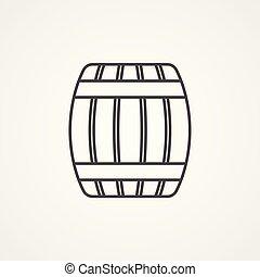 Simbolo de vector de barbacoa