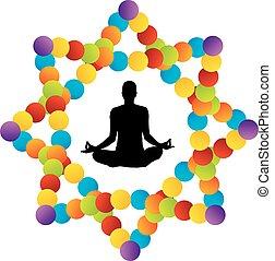 Simbolo de yoga kundalini