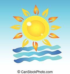 Simbolo del arte de verano