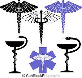 Simbolo médico y farmacéutico