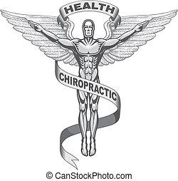 Simbolo quiropráctico