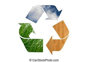Simbolo reciclado