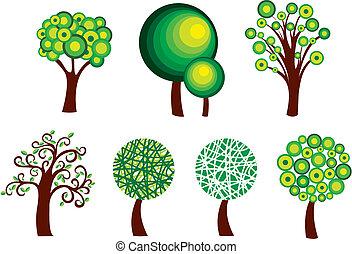 Simbolos de árboles