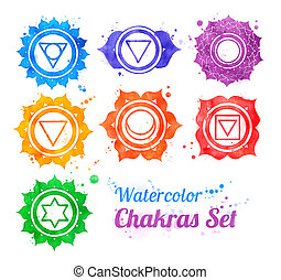 Simbolos de Chakra.