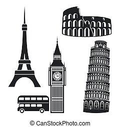 Simbolos de ciudades