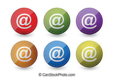 Simbolos de correo