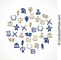 Simbolos de Grecia