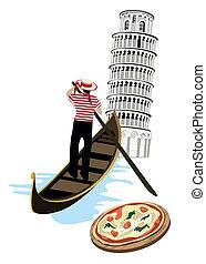 Simbolos de Italia