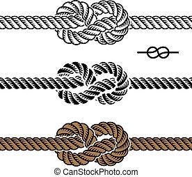 Simbolos de la cuerda negra del vector
