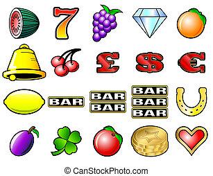 Simbolos de máquinas Slot