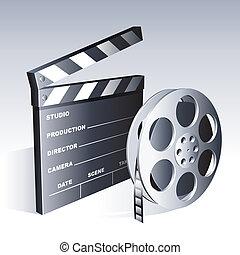Simbolos de películas.