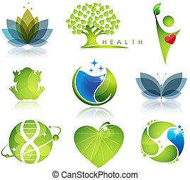 Simbolos de salud y ecología
