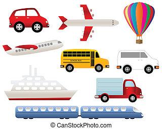 Simbolos de transporte