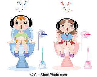 Simbolos higiénicos, vector