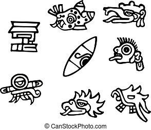 Simbolos mayas, grandes obras de arte para tatuajes