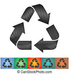 Simbolos reciclados
