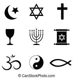 Simbolos religiosos, iconos