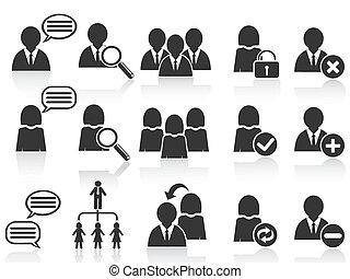 Simbolos sociales negros, iconos de la gente