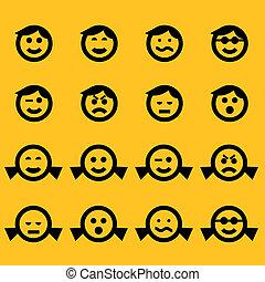 Simbolos sonrientes