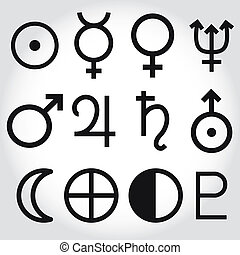 Simbolos zodiacos y astrología de la