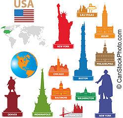 Simbols City USA