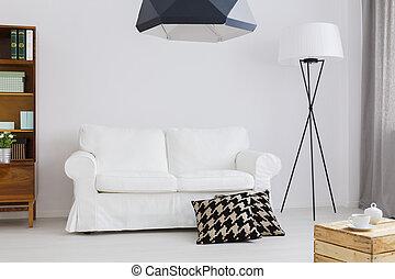 Simple pero elegante decoración de un apartamento contemporáneo