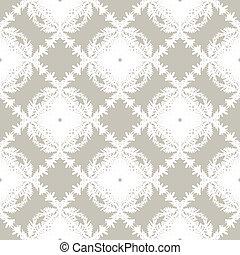 Simple y elegante patrón de vector sin costura