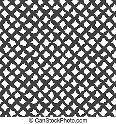 Simples células textiles abstractas sin costura.