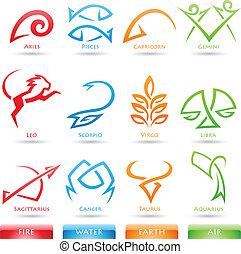 Simplistas signos zodiacos