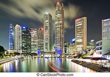 singapur, cbd