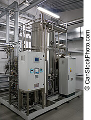 Sistema automático de filtración de agua