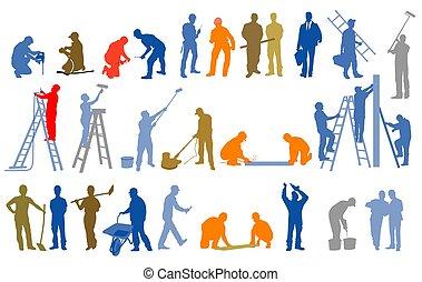 site.eps, construcción, artesanos