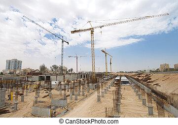 Sitio de construcción.