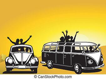 sixties, viajar