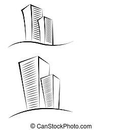 sketchy, edificios