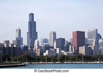 Skyline de Chicago Soc03