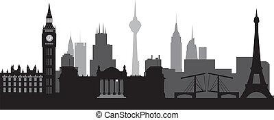 Skyline mundial
