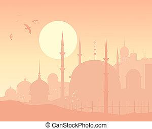 Skyline oriental