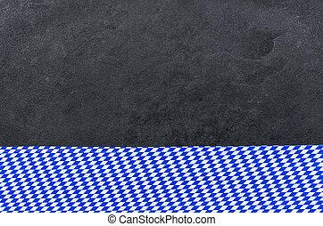 Slate con un patrón de diamante bávaro