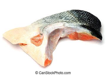 Slice del salmón