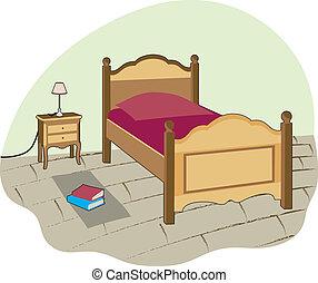smal, dormitorio