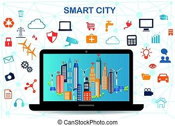 Smart City y la red de comunicaciones inalámbrica