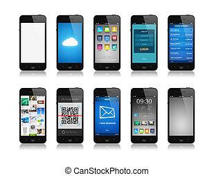 smartphone, colección