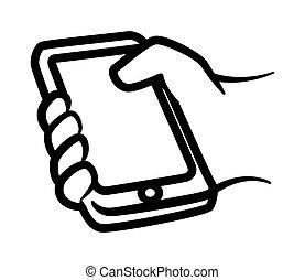 smartphone, diseño