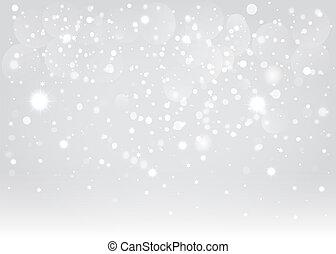 Snow Bokeh antecedentes. Vector EPS10.