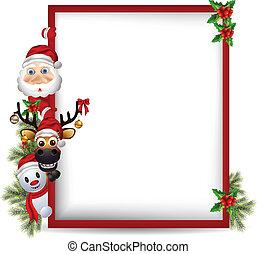 snowman, claus, santa