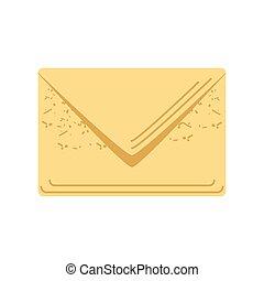 sobre, correo, mensaje