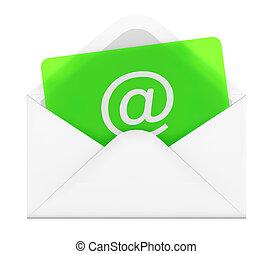 Sobre por correo electrónico