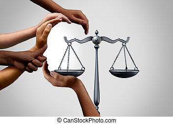 social, diverso, justicia