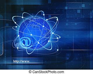 Sociedad de Información Global, antecedentes tecnológicos abstractos para su diseño